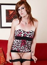 Devon Delirium is a punky shemale who loves to live life on the wild side. This shemale loves to be dominated and knows how to mix up pleasure and pai