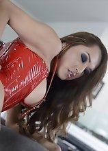 Watch Jessica Fuck and Suck that Cock Hard and Swallows All that Man Juice
