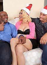 Sunday Valentina takes a huge black cock up her tranny ass in this hardcore cuckold scene!