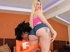 Watch Super Ramon give out some good dick to sexy transsexual Lexie Beth!