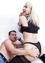 Mia Puig getting her sexy ass pounded hard by Joker's big cock in this smashing hardcore scene!