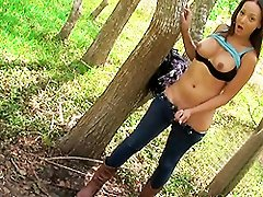 Cute Sunshyne strips in the woods